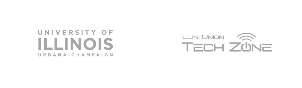 U of I and Illini TechZone Logos